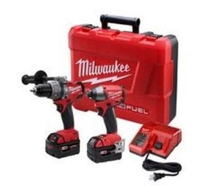 $349.00 For Milwaukee Cordless 2-Tool Combo Kit