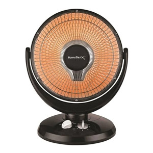 HomeBasix® Oscillating Parabolic Heater