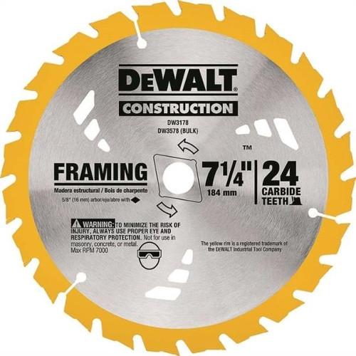 $7.50 for 7-1/4 Dewalt Combination Blade