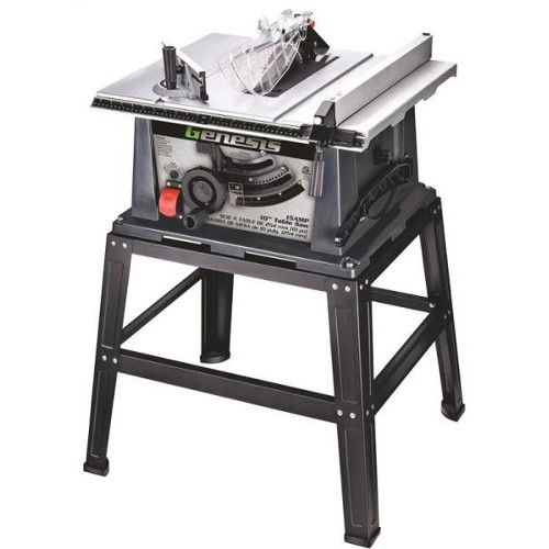 $169.75 For Genesis Heavy Duty Table Saw W/ Stand