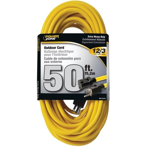$29.75 for Powerzone Extension Cord 50 Ft, Double