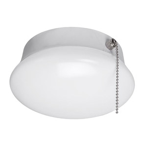 7″ 120V Spin Light with Pull Chain
