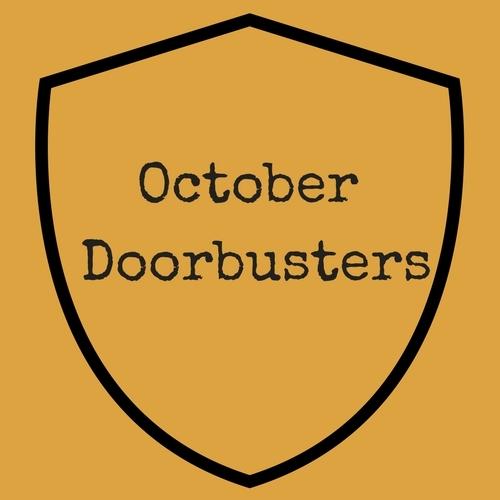 October Doorbuster!