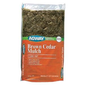 Agway® Brown Cedar Mulch