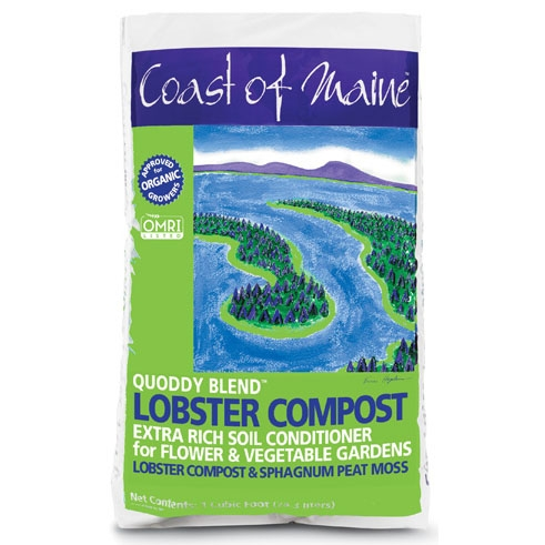 Coast of MaineQuoddy Blend Lobster Compost