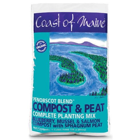 Coast of Maine Penobscot Blend Compost & Peat