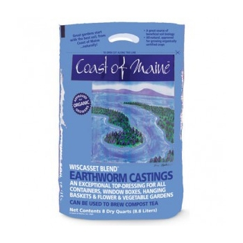 Coast of Maine Wiscasset Blend Earthworm Castings
