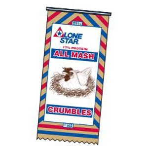 Lone Star® 17% All Mash Crumbles