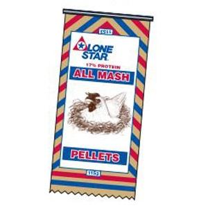 Lone Star® 17% All Mash Pellets