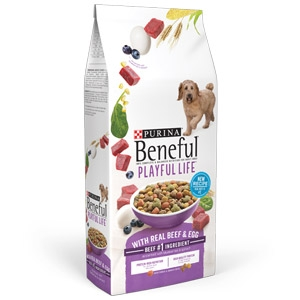 Beneful® Dry Dog Food Playful Life with Real Beef & Egg