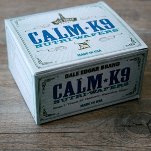 Dale Edgar Brand Calm-K9 Nutri-Wafers Supplement for Stress