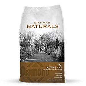 Diamond® Naturals Active Cat Chicken Meal & Rice Formula