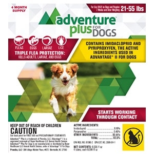 Adventure™ Plus Flea Spot On for Dogs and Cats