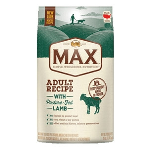 Max® Pature Fed Lamb Adult Recipe Dog Food