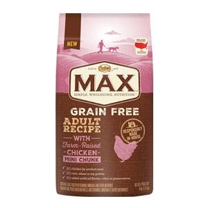 Max® Farm Raised Grain Free Chicken Mini Chunk Adult Recipe Dog Food