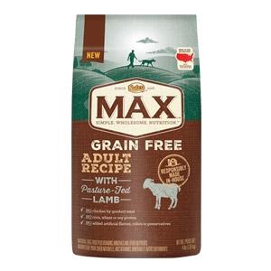 Max® Pature Fed Grain Free Lamb Adult Recipe Dog Food