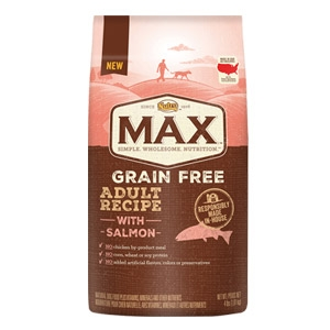 Max® Grain Free Salmon Adult Recipe Dog Food