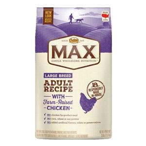 Max® Farm Raised Chicken Large Breed Adult Recipe Dog Food