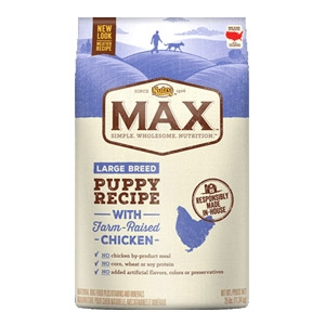 Max® Farm Raised Chicken Large Breed Puppy Recipe Dog Food