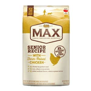 Max® Farm Raised Chicken Senior Recipe Dog Food