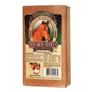 Sturdy Steed Apple Horse Mineral Block