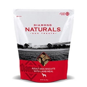 Diamond Naturals® Adult Dog Biscuits with Lamb Meal