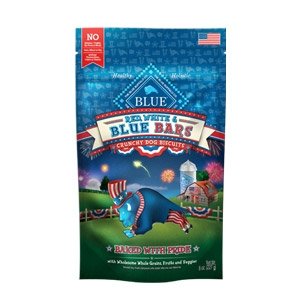 Red, White & BLUE Bars® Apple & Yogurt Crunchy Dog Biscuits