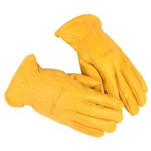 Forney Men's Premium Cowhide Lined Leather Driver Gloves