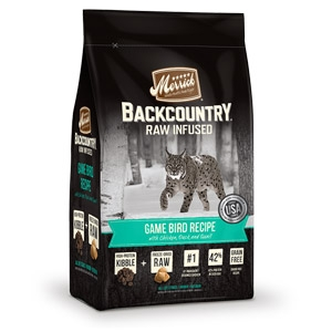 Backcountry® Raw Infused Game Bird Recipe Dry Cat Food
