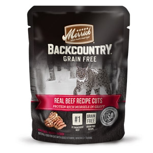 Backcountry® Grain Free Real Beef Recipe Cuts Wet Cat Food