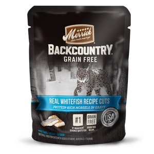 Backcountry® Real Whitefish Recipe Cuts Wet Cat Food