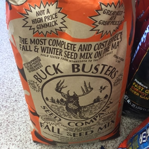 Buck Busters Basic® Fall Seed Mix