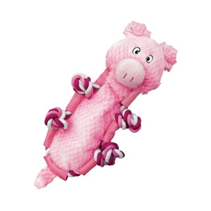 Barnyard Knots Pig Dog Toy