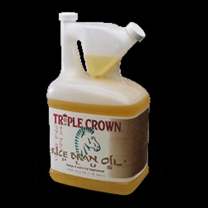 Triple Crown® Equine Rice Bran Oil Supplement