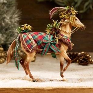 Woodland Splendor 2016 Holiday Horse Decoration