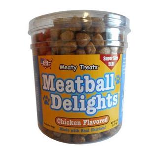 Meaty Treats®Meatball Delights Chicken Flavor Dog Treats