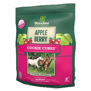 Standlee® Apple/Berry Cookie Cubes® Horse Treats