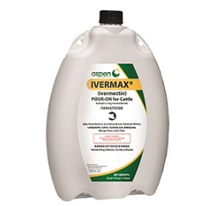 Aspen® Ivermax® Parasiticide Pour On for Cattle