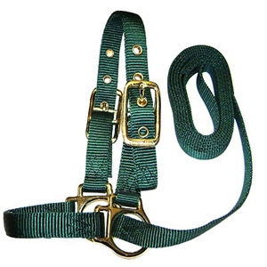 Sheep Show Halter with Lead