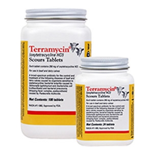 Terramycin Scours Tablet (Oxytetracycline HCL)