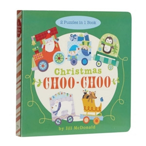 Puzzle Board Book - Christmas Choo-Choo