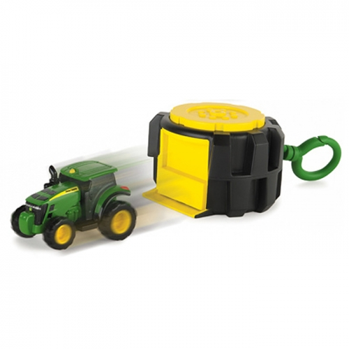 John Deere® Mighty Movers Handheld Launcher With Tractor