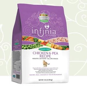 Infinia® Grain Free Chicken & Pea Holistic Cat Food