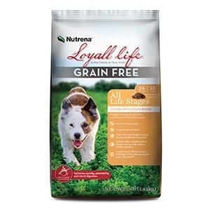 Nutrena® Loyall Life® Grain Free Chicken with Potato Recipe