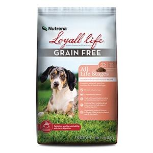 Nutrena® Loyall Life® Grain Free Salmon with Sweet Potato Recipe