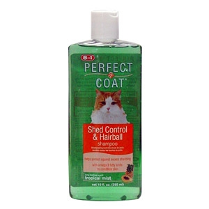 Perfect Coat® Shed/Hairball Control Shampoo For Cats