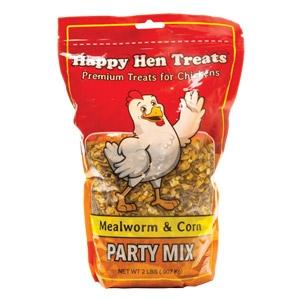 Happy Hen® Treats Mealworm & Corn Party Mix