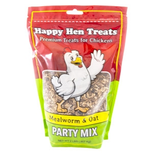 Happy Hen® Treats Mealworm & Oat Party Mix
