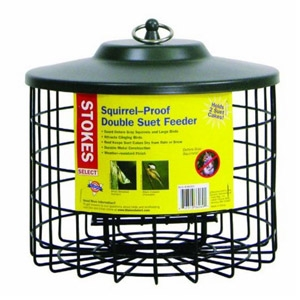 Stokes® Squirrel Proof Double Suet Feeder