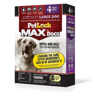 PetLock® Max Topical Flea & Tick Control for Large Dogs